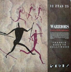 LP- Frankie Goes To Hollywood -Warriors (Twelve Wild Disciples Mix) UK
