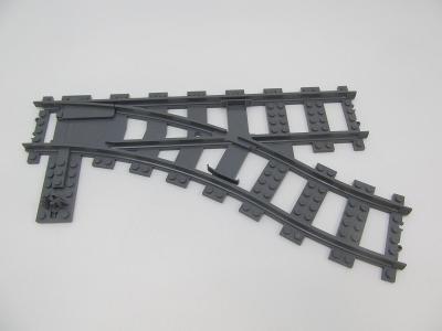 LEGO díl Train Track RC Trains železniční kolejnice výhybka doprava