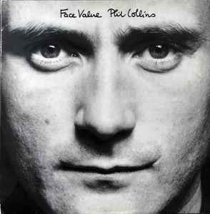 PHIL COLLINS -  Face Value   - CD 1980