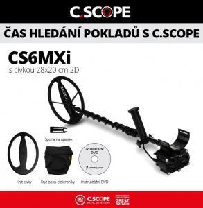 Detektor kovu C.Scope CS6MXi