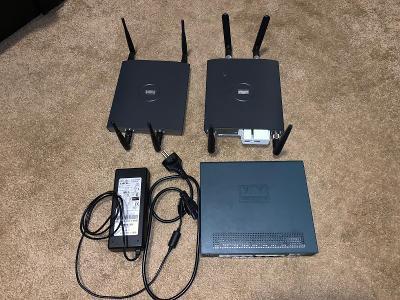 Cisco Wireless LAN Controller + 2 Access Points