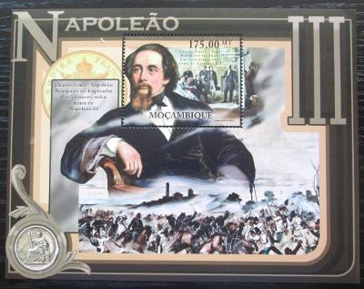 Mosambik 2012 Napoleon III. Mi# Block 590 Kat 10€ 1273