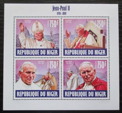 Niger 2013 Papež Jan Pavel II. Mi# 2486-89 Kat 12€ 1296