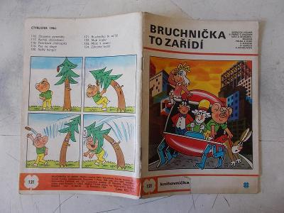 Časopis  komiks Čtyřlístek Bruchnička to zařídí 121