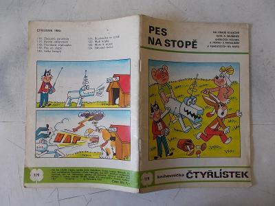Časopis  komiks Čtyřlístek Pes na stopě  119