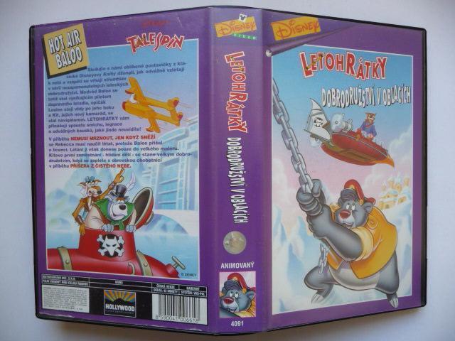 Letohrátky - Dobrodružství v oblacích - TaleSpin - USA 1990 - Film