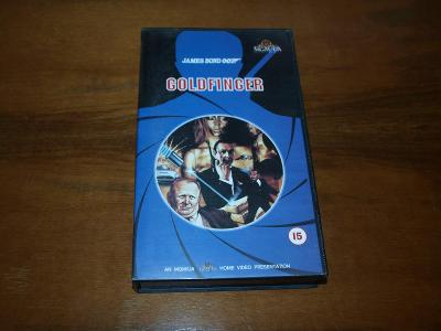 Goldfinger - James Bond 007, VHS