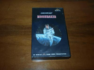 Moonraker - James Bond 007, VHS