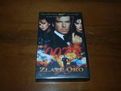 Zlaté oko - James Bond 007, VHS