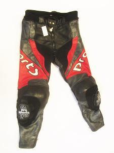 Kožené kalhoty PRO SPORTS- vel. L/52, pas: 88 cm