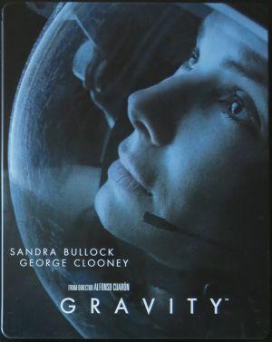 GRAVITACE 3D + 2D Blu-Ray - STEELBOOK (ČESKÝ DABING I TITULKY)