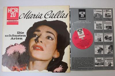 Maria Callas – Die Schönsten Arien LP vinyl Classic Opera Aria Mia EX
