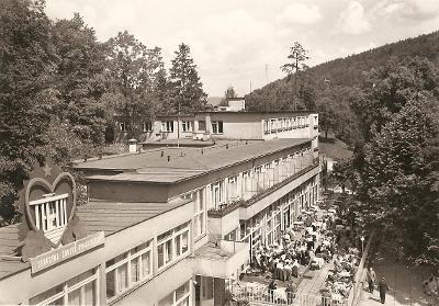 TEPLICE NAD BEČVOU - hlavní lázeňská budova - Hranice - Přerov