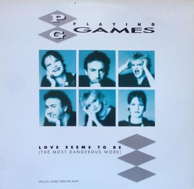 """LP -PLAYING GAMES -Love Seems To Be (The Most Dangerous Word) (12""""Maxi"""