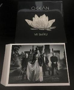 LP- OCEÁN - Ve Smíru (album)´2017 + foto s podpisy / NOVÉ - ZAPEČETĚNÉ