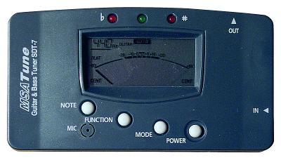 Petricard | Kytarová ladička MSA – SDT-7, Digital Tuner