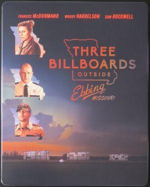 TŘI BILLBOARDY KOUSEK ZA EBBINGEM 4K UHD Blu-Ray STEELBOOK (CZ DABING)