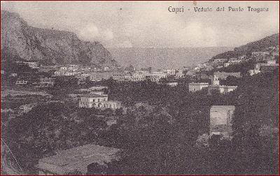 Capri (ostrov) * Punto Tragara, část města * Itálie * Z726