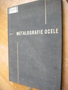 Jareš V. - Metalografie ocele - 1960