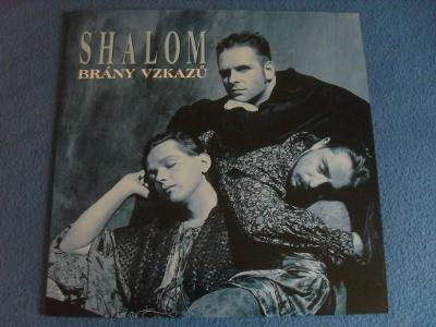 LP Shalom - Brány vzkazů RARE TOP STAV 1994