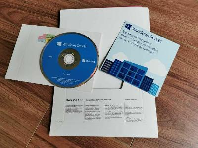 MS Windows Server 2016 Standard + DVD + COA štítek + faktura