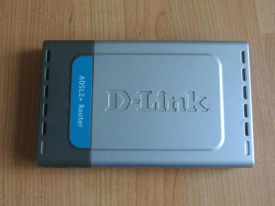 ADSL2+ modem / router D-Link DSL 584-T - používaný s O2
