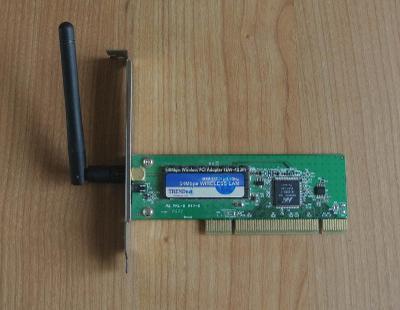 Wi-Fi karta 802.11b/g do PCI slotu pro stolní PC