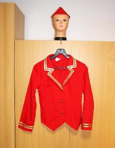 9321 LETUŠKA - karnevalový kostým  pro dospělé vel.S