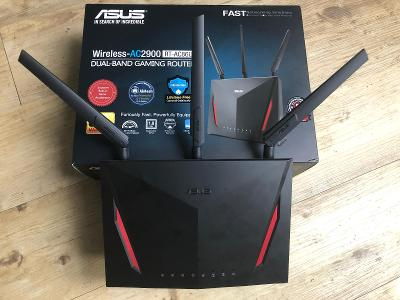 WiFi Router ASUS RT-AC86U, AC2900 Gigabit Aimesh, záruka do 12/2022