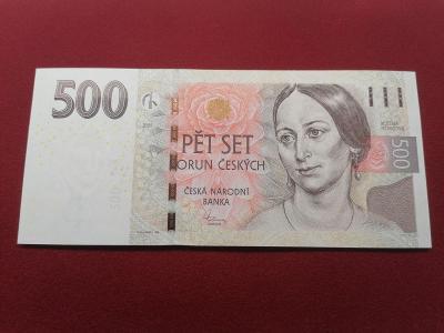 500 Kč 2009, série G 01, stav UNC