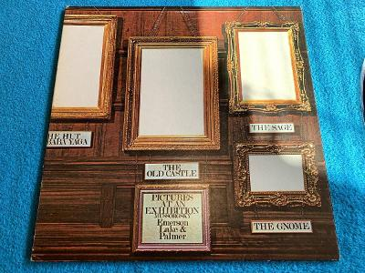 LP EMERSON LAKE and PALMER Pictures AT AN Exhibition Japan Press