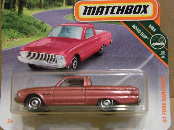 MATCHBOX - '61 FORD RANCHERO - Modelářství