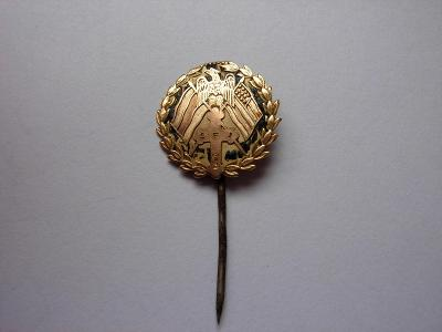 Odznak zo zlata - Slovenská evanjelická jednota - veľmi vzácný