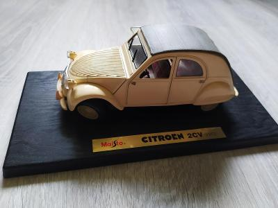 Model Maisto Citroen 2CV (1952)