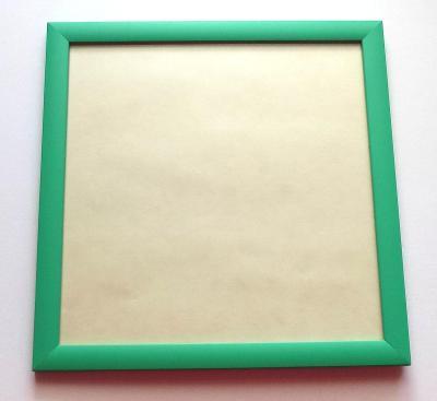 NOVÝ RÁM + antireflexní sklo - vnitřní rozměr 21 x 21 cm č.239