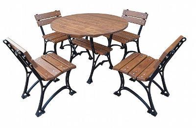 Dřevěný zahradní nábytek Restor 100 fiema