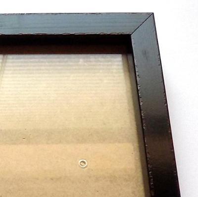PĚKNÝ NOVÝ RÁM + SKLO - vnitřní rozměr 20 x 30 cm č.127