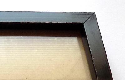 PĚKNÝ NOVÝ RÁM + SKLO - vnitřní rozměr 20 x 30 cm č.63