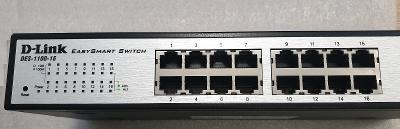 Switch D-Link DES-1100-16  16 port TOP KVALITA !