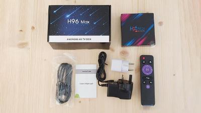 Android TV box H96 Max 4GB Ram 32GB/64GB ROM
