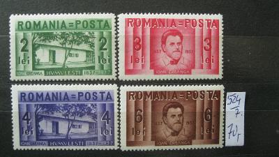 Rumunsko - čistá série známek katalogové číslo 524/527