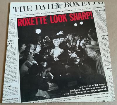 LP ROXETTE - LOOK SHARP! /EX, 1988,ITALY
