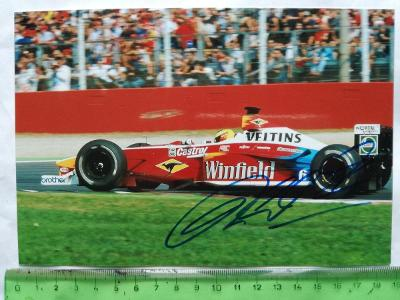 Autogram podpis Schumacher Ralf