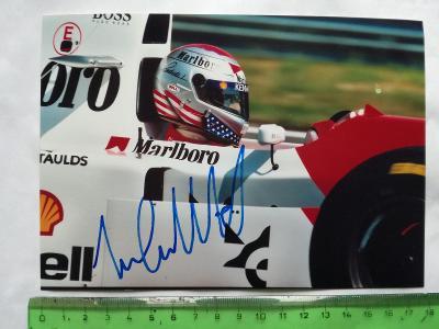 Autogram podpis Andretti  Michael