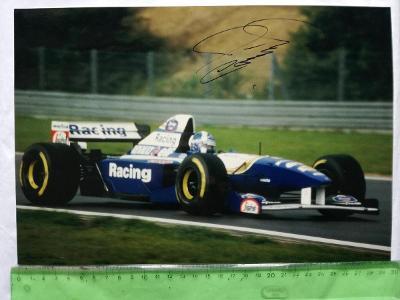 Autogram podpis Coulthard David