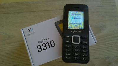 MyPhone 3310 černý Dual SIM