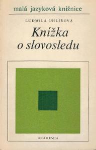 Uhlířová: Knížka o slovosledu, 1987