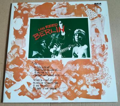 LP LOU REED - BERLIN/NM, TOP STAV