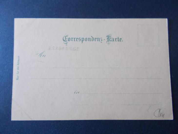 Sudety Karlovy Vary Krušné Hory Boží Dar Gottesgab lito koláž DA 1898 - Pohlednice