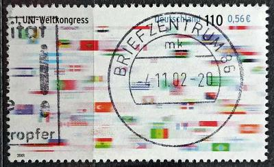 DEUTSCHLAND: MiNr.2215 First World Congress of UNI 110pf/0,56€ 2001
